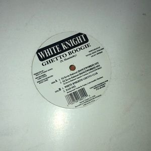 White Knight ghetto boogie vinyl record